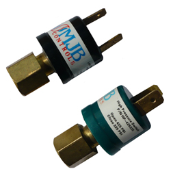 Encapsulated HVAC Pressure Switches