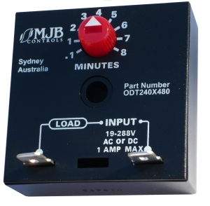 ODT240X480 Solid State On Delay Cube Timer